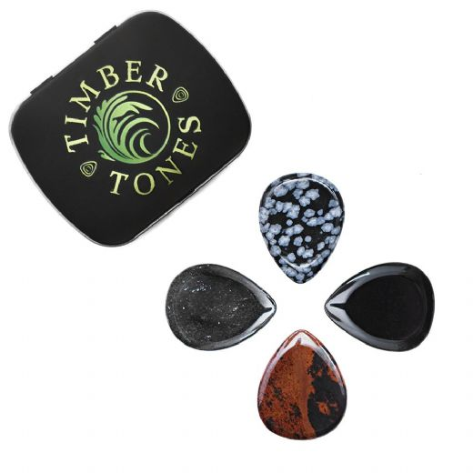 Lava Tones Mixed Tin of 4 Guitar Picks